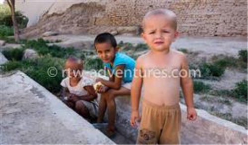 First Additional product image for - Kids from Khiva, Uzbekistan