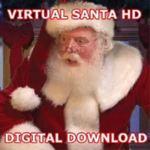 virtual santa in high definition