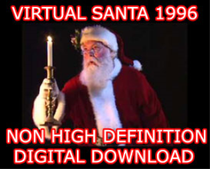 virtual santa in non high definition