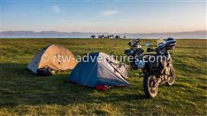 adventure photo from song kul lake, kyrgyzstan