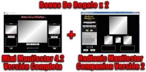 radionic manifestor pro 3 spanish + mini manifestor 4