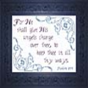 His Angels Charge | Crafting | Cross-Stitch | Religious