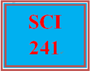 SCI 241 Week 4 WileyPLUS® Week 3 & 4 Quiz | eBooks | Education