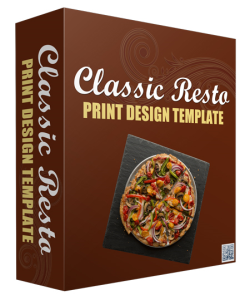 Classic Resto Print Design Template | Documents and Forms | Templates