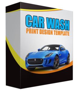 Car Wash Print Design Template | Documents and Forms | Templates