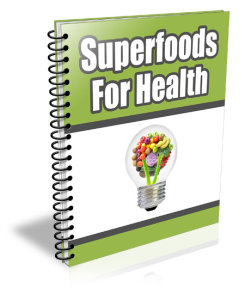 Superfoods For Health | Documents and Forms | Letters