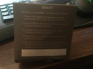 CSGO Bravo pin CODE GENUINE | Other Files | Everything Else