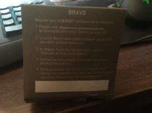 csgo bravo pin code genuine