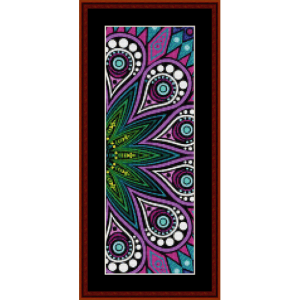 Fractal 587 Bookmark cross stitch pattern by Cross Stitch Collectibles | Crafting | Cross-Stitch | Other