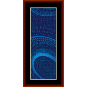 Fractal 588 Bookmark cross stitch pattern by Cross Stitch Collectibles | Crafting | Cross-Stitch | Other