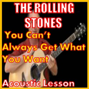 learn to play you can't always get what you want by the rolling stones