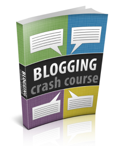 Blogging Crash Course | eBooks | Business and Money