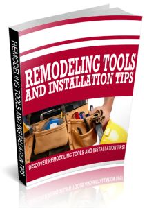 Remodeling Tools and Installation Tips | eBooks | Business and Money