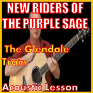 learn to play the glendale train by new riders of the purple sage