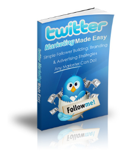 Twitter Marketing Made Easy | eBooks | Business and Money