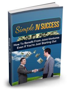 Simple JV Success | eBooks | Business and Money