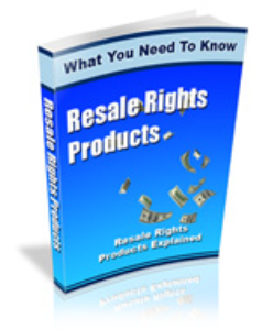 Resale Rights Products | eBooks | Business and Money