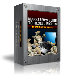 Marketers Guide To Resell Rights | eBooks | Business and Money