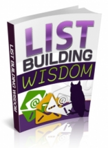 List Building Wisdom | eBooks | Business and Money