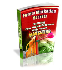 Forum Marketing Secrets | eBooks | Business and Money