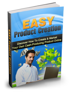 Easy Product Creation | eBooks | Business and Money