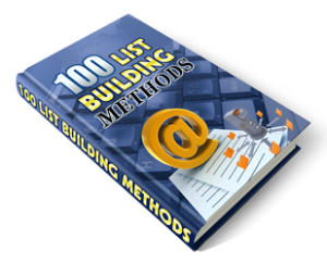 100 list building methods - mrr
