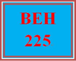 BEH 225 Week 7 Attitudes | eBooks | Education