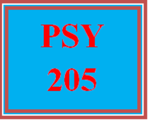 PSY 205 Week 4 Personal Milestone Flowchart | eBooks | Education