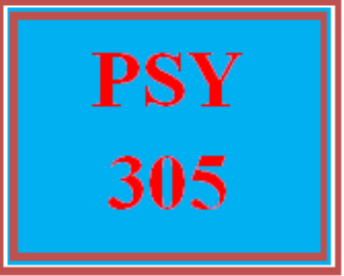 First Additional product image for - PSY 305 Week 2 The Research Process