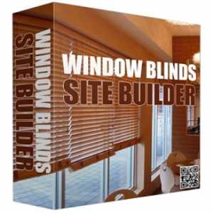 window blinds site builder software