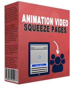 Animation Video Squeeze Page | eBooks | Business and Money