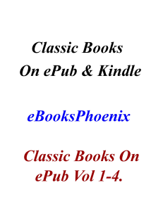eBooksPhoenix Classic Books On ePub  Vol 1-4 | eBooks | Classics