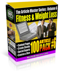 Fitness and weightloss 100 articles master series | eBooks | Health