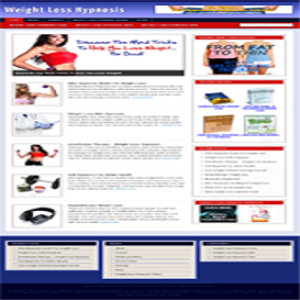 Turnkey Weight Loss Niche Blog | Software | Software Templates