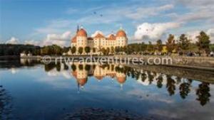stock photo moritzburg castle, germany