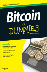 bitcoin for dummies  by prypto (author)