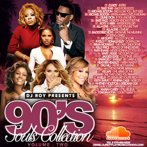 dj roy 90's souls collection mix vol.2
