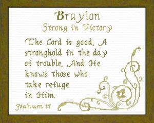 name blessings - braylon