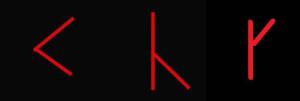 runic series 3rd aett