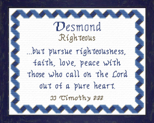 name blessings - desmond
