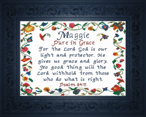 Name Blessings - Maggie | Crafting | Cross-Stitch | Other