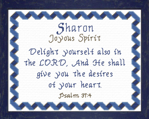 name blessings - sharon
