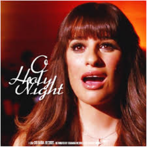 o holy night (glee) for solo, choir and piano - vocal pak only