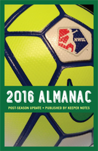2016 NWSL Almanac POST-SEASON UPDATE | eBooks | Sports