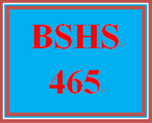 BSHS 465 Week 4 Self-Care Strategies Paper | eBooks | Education