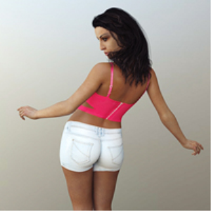 shorts and vest for genesis 3 female