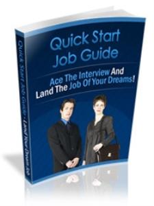quick start jobs guide