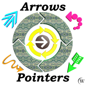 arrows and pointers for game dev (blend, dae, fbx, obj)