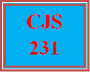 CJS 231 Week 3 Examining Theory Paper | eBooks | Education