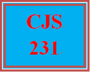 CJS 231 Week 4 Policy Issues | eBooks | Education